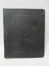 Vtg 1960s Auburn Engineering Project Notes Notebook Vernon Royal Line Binder image 2