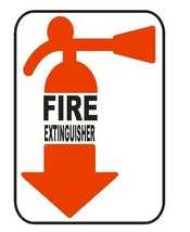 Fire Extinguisher Sticker Safety Decal Label D857 - $1.45+