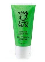 Zach's Wax Temporary Hair Color Gel - Neon Green - $10.99