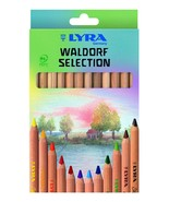 LYRA Waldorf Selection Unlacquered Triangular Giant Colored Pencils, Set... - $13.99