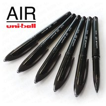 Uni-Ball AIR Micro - 0.5mm Fine Rollerball - Box of 12- Black - UBA-188-M - ₹1,656.25 INR
