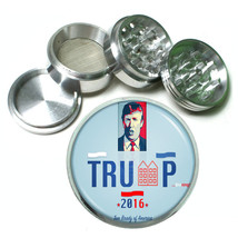 President Donald Trump 2016 Grinder D3 4 Piece Aluminum Spice Herb 63mm  - $12.82