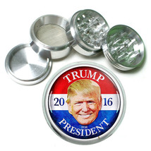 President Donald Trump 2016 Grinder D10 4 Piece Aluminum Spice Herb 63mm  - $12.82