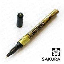 Sakura - Pen-Touch Calligrapher - Fine Calligraphy Marker - Gold #51 - 3... - $14.99