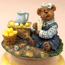 "Boyds Candle Topper ""Lucy.. Bearly Squeezed""- #651225 - Resin~ New- Retired - $34.99"