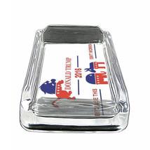 "President Donald Trump D5 Glass Square Ashtray 4"" x 3"" Smoking Cigarette Smoke - $9.84"