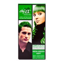 Splat Complete Kit One Step Color Process - Neon Green Vert by Splat Hai... - $12.99