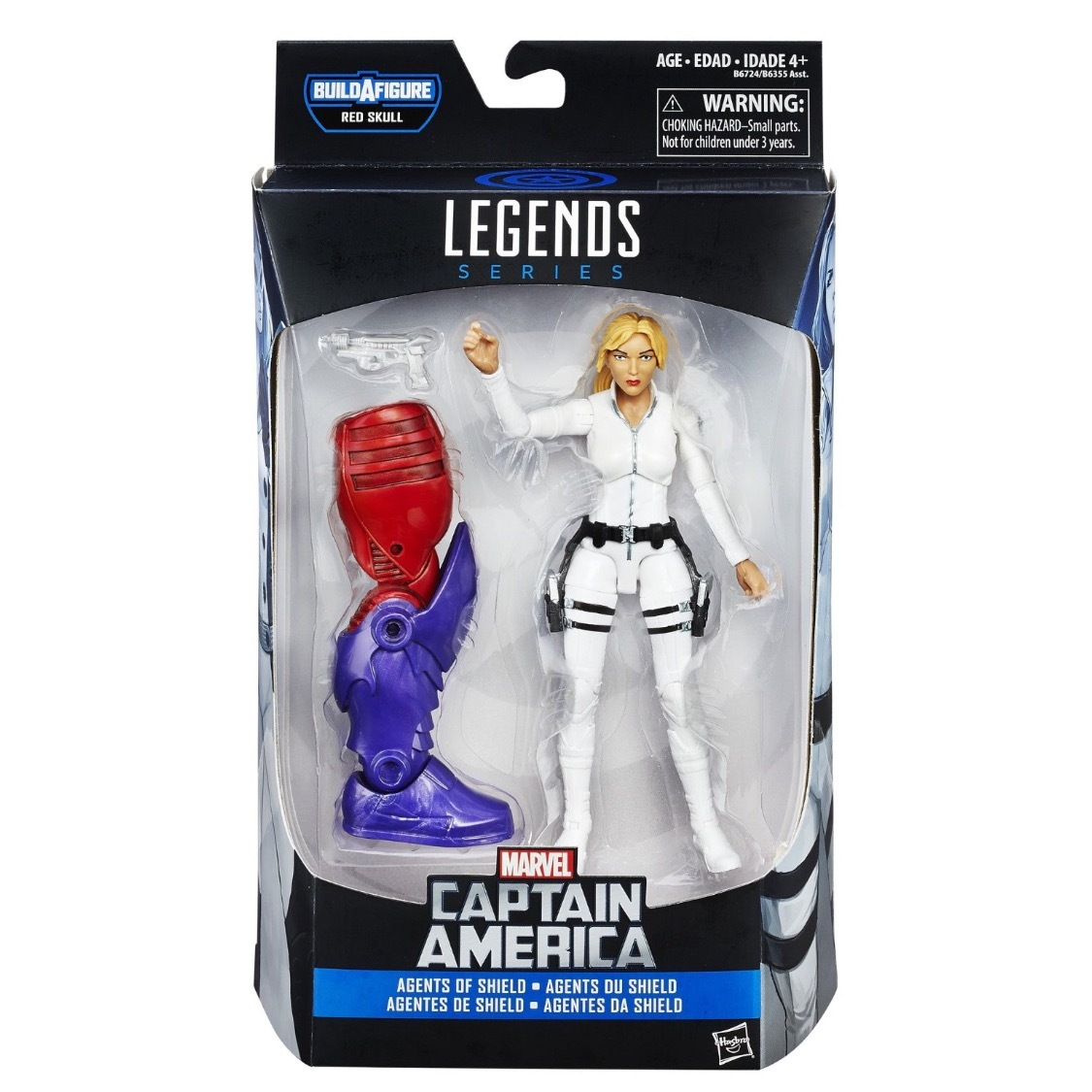 Marvel Legends Series Agents if Sheild Sharon Caryer