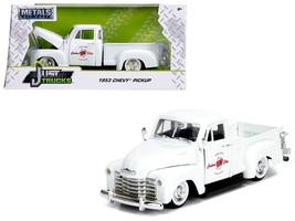 """1953 Chevrolet 3100 Pickup Truck White \""""Custom Shop Classic Truck\"""" (La... - $34.30"""