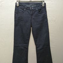 Juicy Jean Couture High Rise Flare Womens Jeans Size 28 Long Dark Wash    image 8