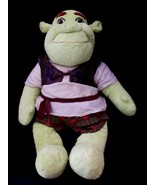 """Shrek the Third LARGE 17"""" Plush Doll Build a Bear Workshop in Ogre Outfi... - $19.80"""