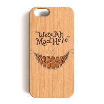 iPhone 6 Case, iPhone 6S Case, Pink Peri™ We're Ah Mad Here Wood C... - $12.86
