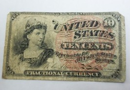 10 Cent Fractional Currency Fourth Issue FR #1258 U.S. 10C Fractional Note - $36.99