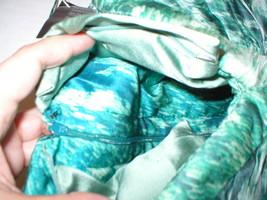 New 38 Carlos Miele Womens 4 Silk Runway Gown Dress Strapless Silk Green Snake image 6
