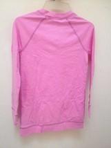 New Gap Kids L 10 Top Pink Long Sleeve Kangaroo Pockets Back to School image 2