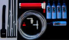 Lifan Bike 49-250cc Nitro Mini Nitrous Oxide Boost Bottle Kit w/5 NOS Bo... - $55.63