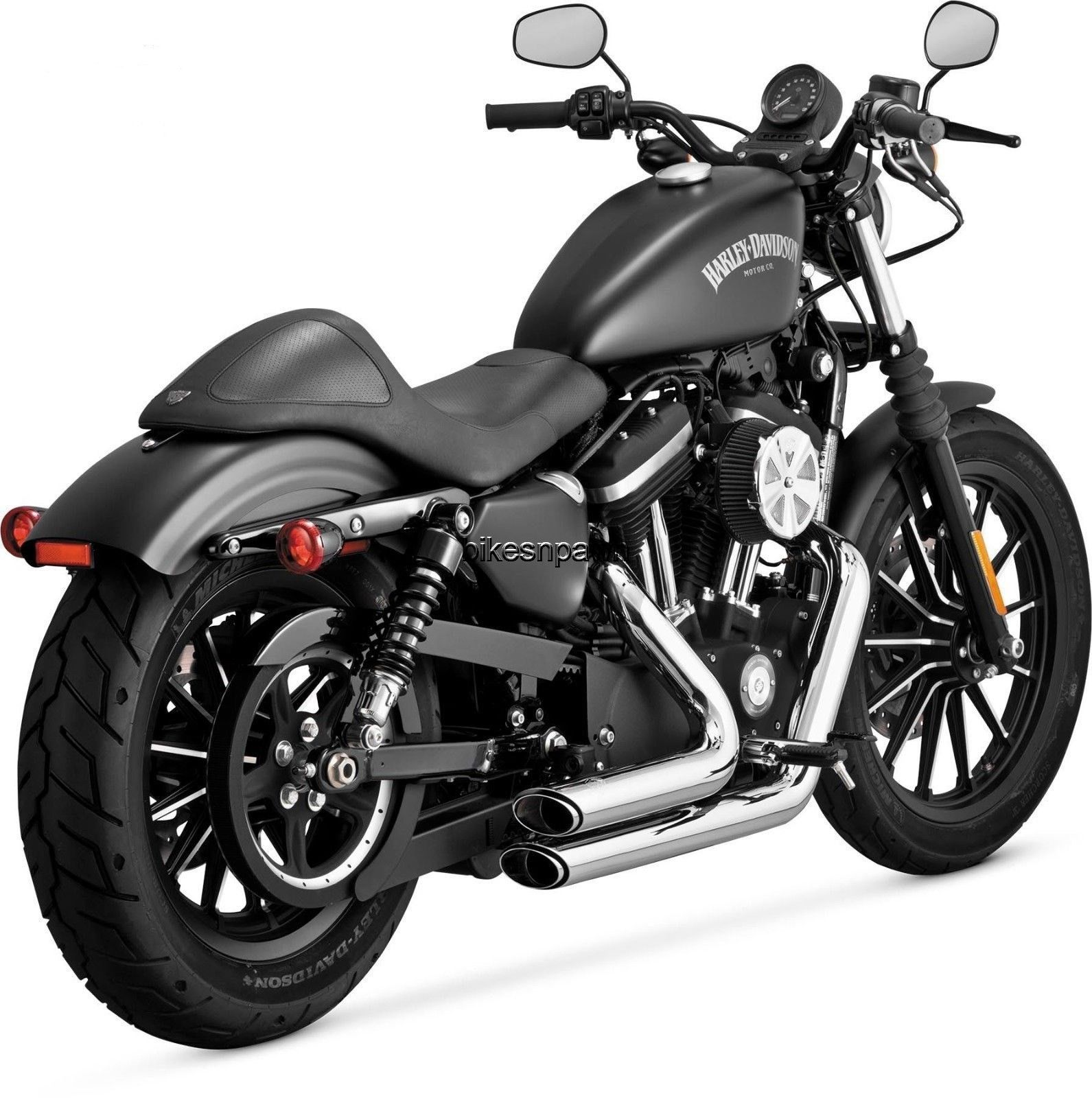 New Vance & Hines Shortshots Staggered Chrome 2014-2016 Sportster XL Harley