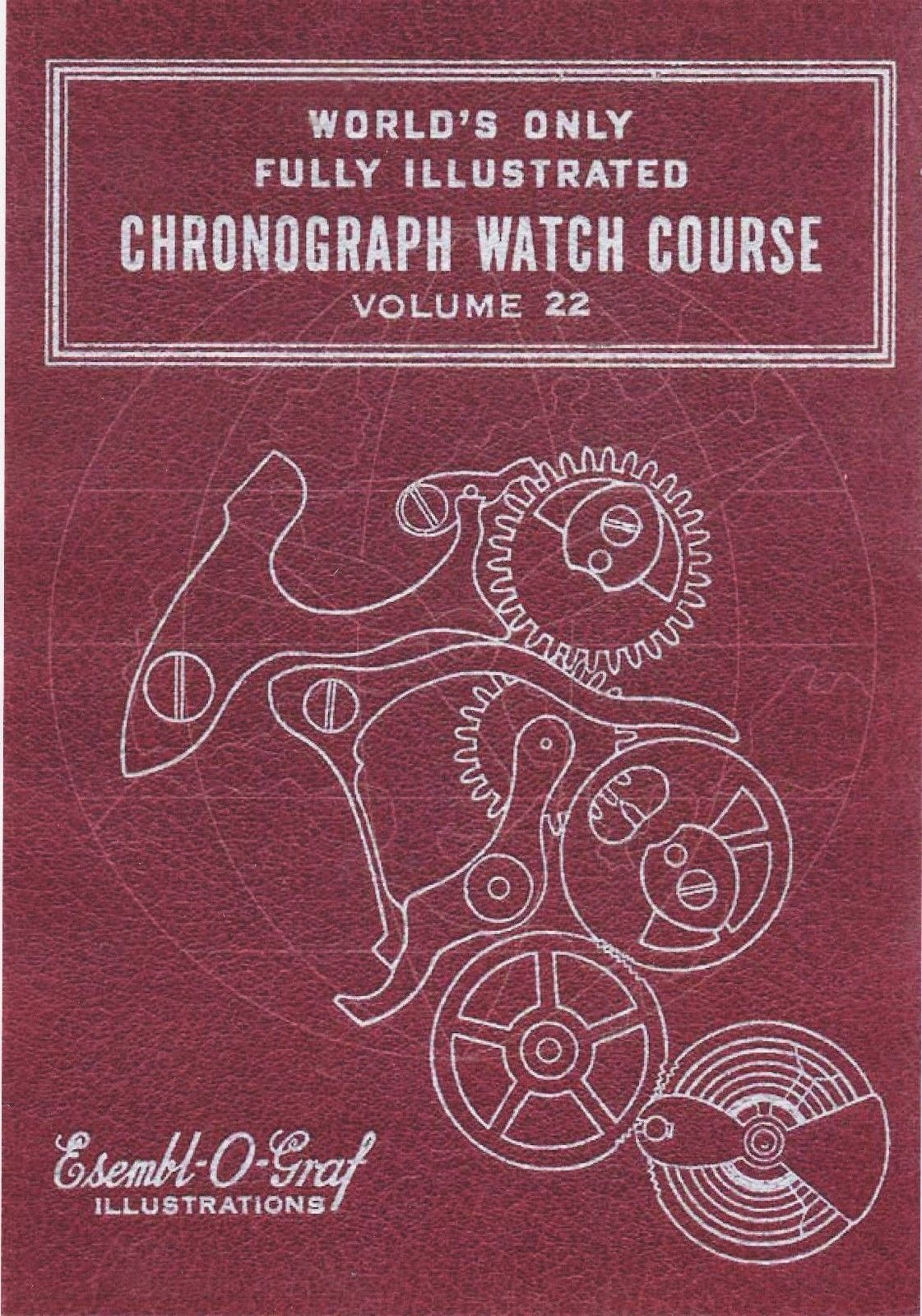 Primary image for Longines Cal. 13 L Chronograph -  How to Repair - Book-CD