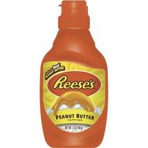 Reese's Peanut Butter Desert Topping 1bottle 7oz - $8.97