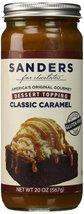 Sanders Classic Caramel dessert topping 20-oz. glass jar - $18.56