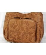 St Johns Bay Ladies Embossed Leather Shoulder Bag Handbag  Purse - £15.88 GBP