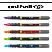 Uniball UB-157 Rollerball Pen Set - 5 Pen Set - Tropical Colours Pack - $13.67