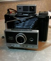 POLAROID Land Camera Model 360 Electronic Flash ith Film VINTAGE - $38.59