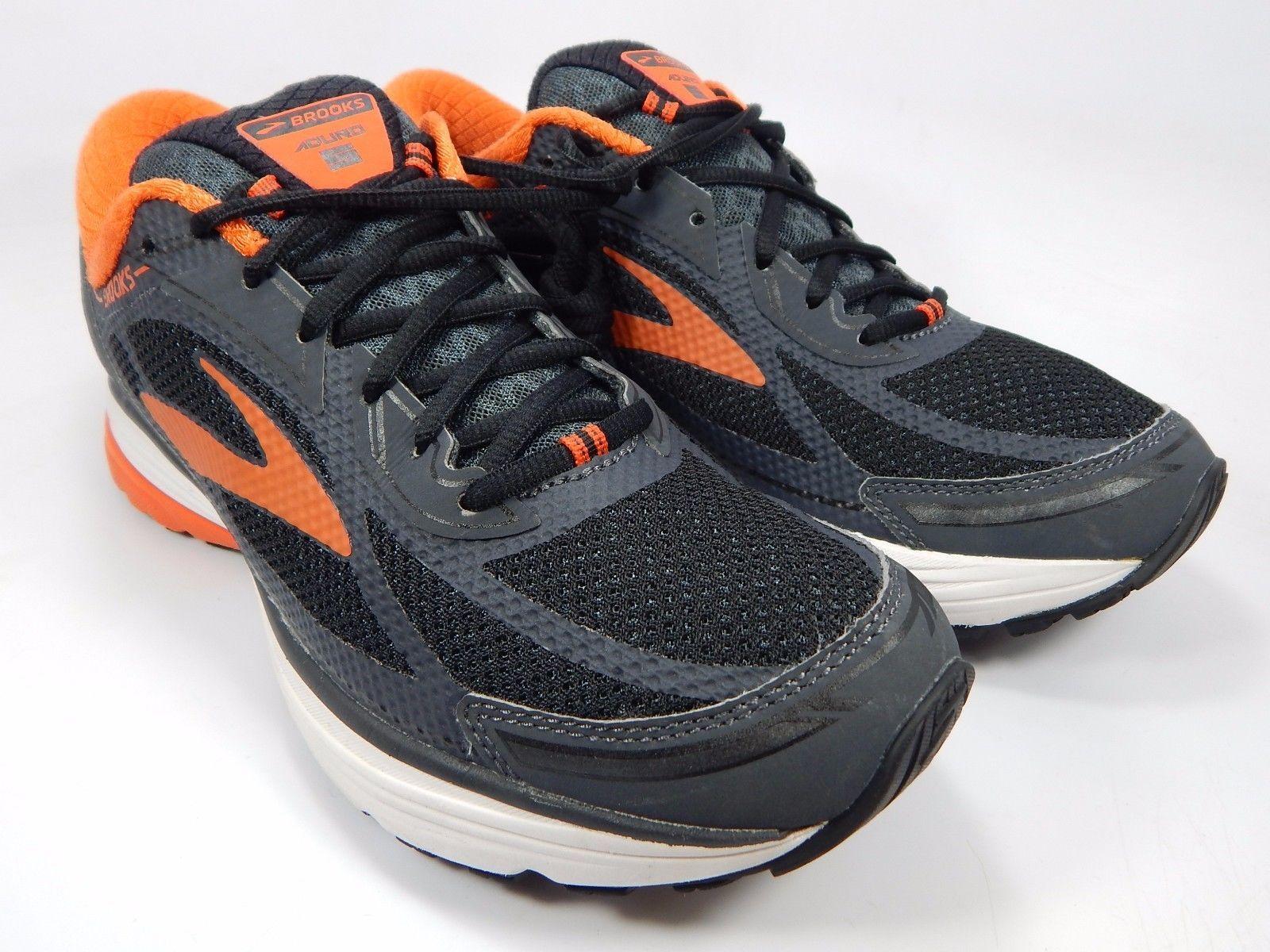 Brooks Aduro 5 Men's Running Shoes Sample Size US 9 M (D) EU 42.5 Gray Orange