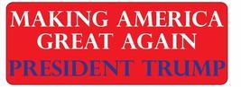 Making America Great Again Magnet  2016  3x8 Trump President Magnet Decal - $6.99