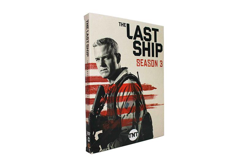 The Last Ship The Complete Season 3 DVD Box Set 3 Disc Free Shipping