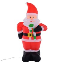 Inflatable Christmas Santa Claus Decoration 4 Ft Airblown Lawn Yard Art - $39.95