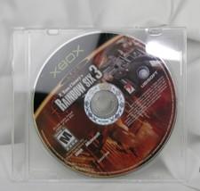 Tom Clancy's Rainbow Six 3 (Xbox, 2003) Game Disc Only  - $4.78