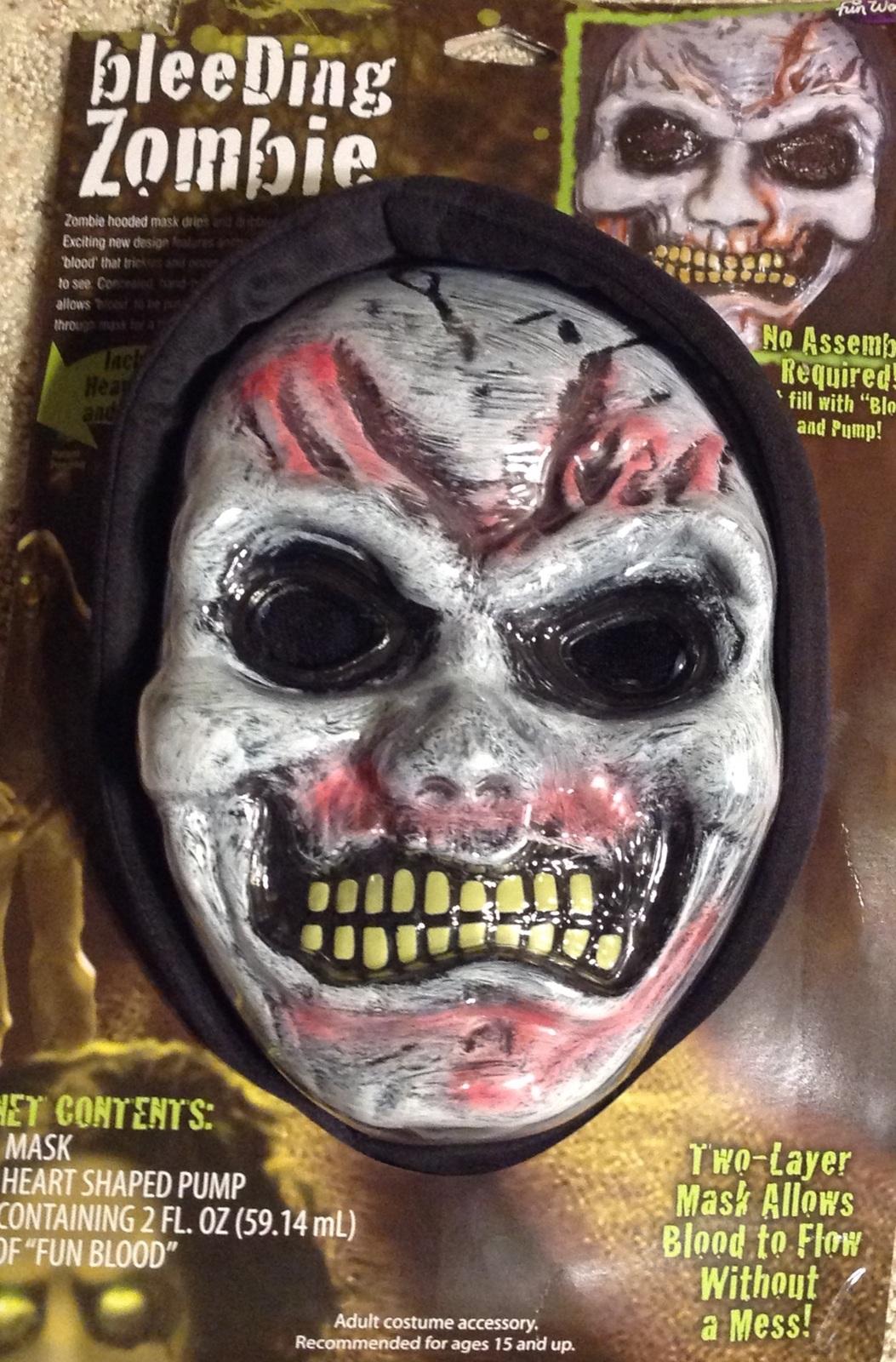 Halloween Bleeding Zombie Mask Hood Heart and 12 similar items