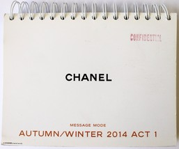 Chanel Message Mode Runway Catalog Look Book Autumn/Winter 2014 Act 1 - $59.35