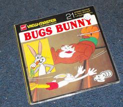 Bugs Bunny I Bruno viewmaster pack 1972 belgium rare - $16.98