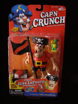 Cap'n Crunch Pirate Jean LaFoote With Squacky Figure New - $26.99