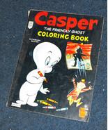 Casper The Friendly Ghost coloring book Saalfield 1959 - $16.99