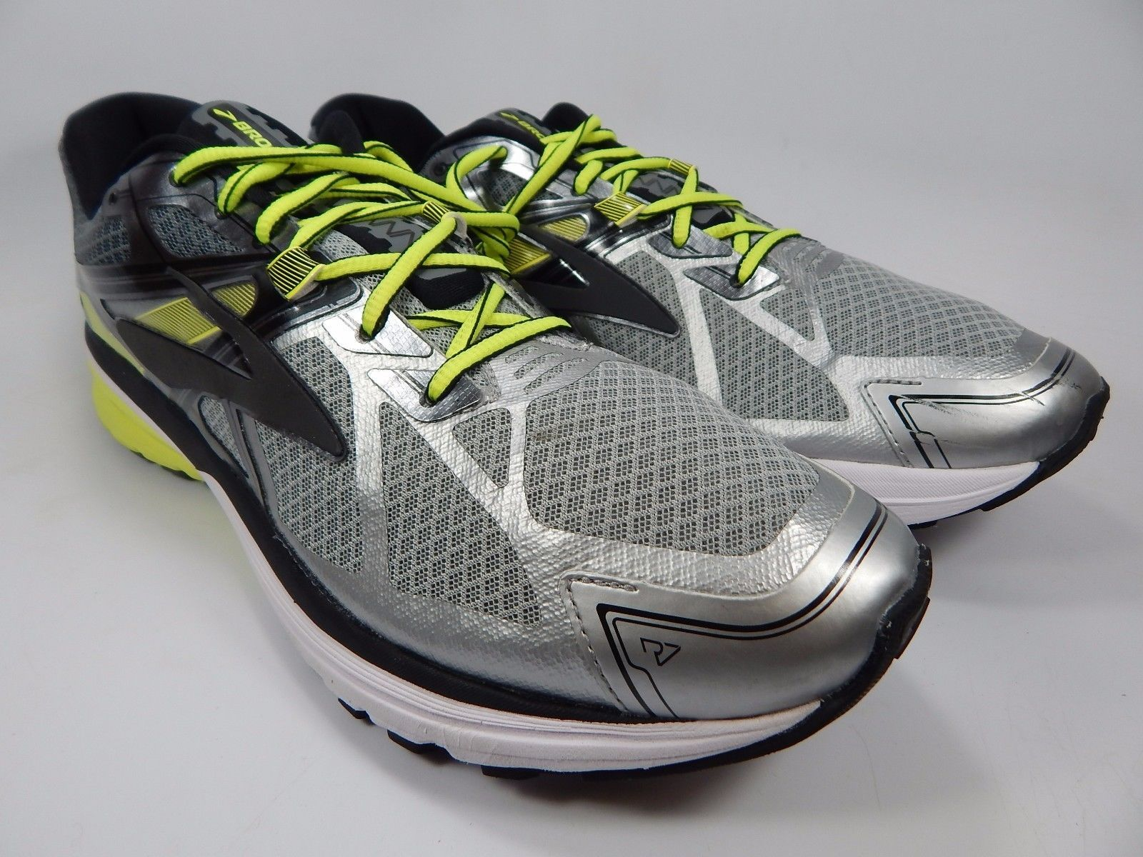 Brooks Ravenna 7 Men's Running Shoes Size US 13 M (D) EU 47.5 Silver 1102171D116