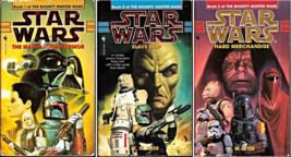 Star Wars The Bounty Hunter Wars by K W Jeter Trilogy 1998 - $14.95