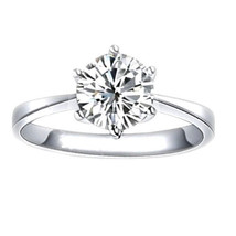 DEAL! ROUND CUT 2.28 CT DIAMOND SOLITAIRE ENGAGEMENT RING GAL CERT H SI3 - $5,531.00