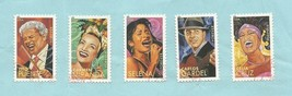 4497-4501 Latin Music Legends United States Stamps Used Off Paper Set of 5 - $2.49