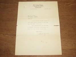 JOHN A. HEYDLER NL BASEBALL PRES SIGNED AUTO VINTAGE MARCH 1920 LETTER J... - $593.99