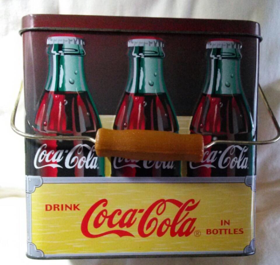 Coca-Cola Tin - Handy to Carry Home  (E) - $15.99