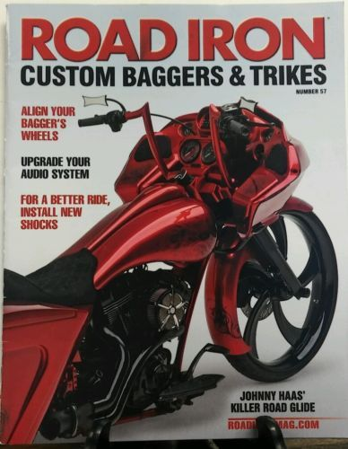 Road Iron No 57 Custom Baggers & Trikes Align Your Wheels FREE SHIPPING sb