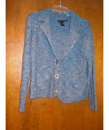 Nomadic Traders Blue Speckled Sweater Size M - $10.99