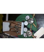 Miller Smith medium duty oxy acetylene gas welding & cutting torch outfit - $312.50