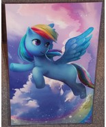My Little Pony Rainbow Dash Glossy Art Print 11 x 17 In Hard Plastic Sleeve - $24.99
