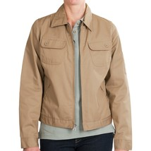 Dickies Womens Heritage Jacket M L XL Desert Sand Cotton Poly Twill Work... - $17.95