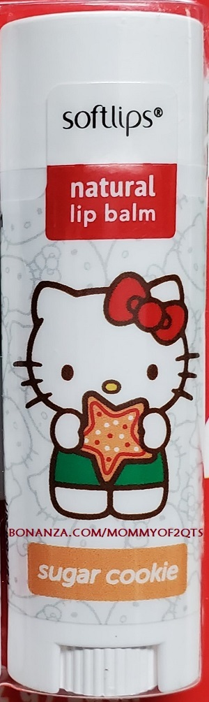 Primary image for Softlips SUGAR COOKIE Hello Kitty Limited Edition Lip Balm Gloss Stick