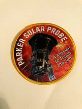 """Parker Solar Probe A Mission To Touch the Sun 3.5"""" Patch New - $6.88"""